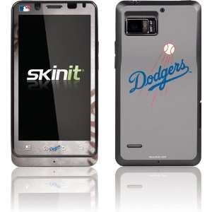 Los Angeles Dodgers Game Ball skin for Motorola Droid