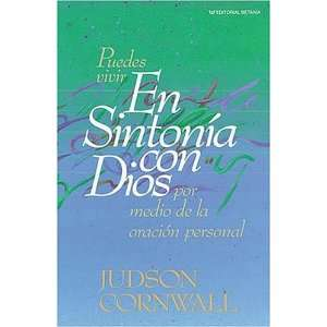 En Sintonía Con Dios (9780881132687) Judson Cornwall Books