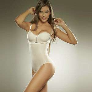 Diane Tummy Belly Shaper with Silicone Open Bust Girdle