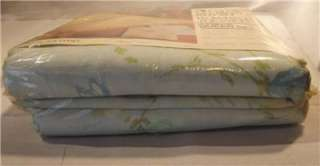 Vintage NIP Dan River 4 Piece Queen Size Floral Sheet Set, Flat Fitted