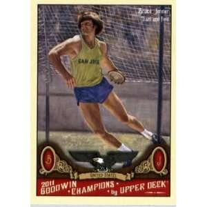 2011 Upper Deck Goodwin Champions 92 Bruce Jenner / Track