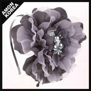 luxury Big FLOWER Headband HAIR BOW seoul 1
