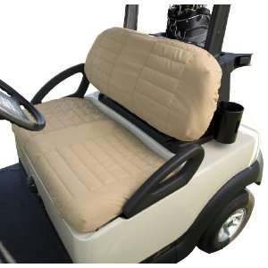 Classic Accessories Fairway Golf Car Padded Seat Cover (fits golf car