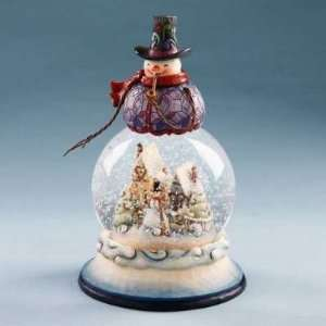 Winter Scene Christmas Water Snow Globe by Jim Shore