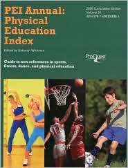 PEI Annual: Physical Education Index, Vol. 31, (1600308384), D