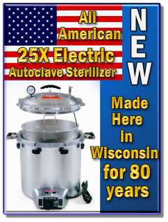 2012 New 220V 25X Sterilizer Autoclave made in the USA FDA Listed Free