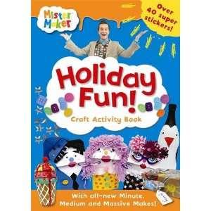 holiday fun! craft activity book (9781409305712) Ladybird Books