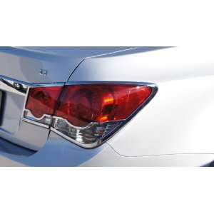 2011   2012 Chevrolet Cruze Chrome Tail Light Cover Set (2 Tail Lights