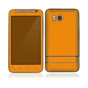 Simply Orange Protective Skin Cover Decal Sticker for HTC Thunderbolt