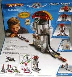 Hot Wheels Power Tower Motorized Micro Stunt Set