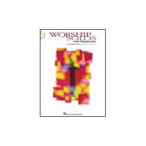 Hal Leonard Worship Solos for Tenor Sax   Book & CD