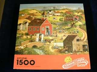 RULE DAYS 1500 Pc Jigsaw Puzzle School Kids Teeter Totter