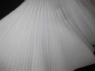 NEW AZZEDINE ALAIA STRUCTURED Pleated FULL SKIRT DRESS M $2,880 blingy