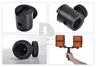 Handle Grip + Connect Base for Canon Nikon Studio Flash LED Light