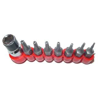 T5   T40 TAMPER PROOF SECURITY BITS TORX TORQUE Star 14
