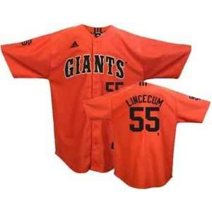 San Francisco Giants Tim Lincecum Adidas Youth Player