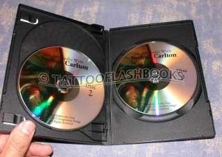 With JOSHUA CARLTON TATTOO Gun DVD Kit Flash Machine Ink Set