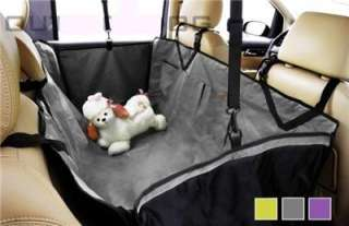 Backseat Pet Dog Car Seat Cover Hammock Waterproof Grey New Arrival