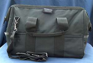 NEW BUCKET BOSS GATEMOUTH 23 POCKET HEAVY DUTY GEAR, TOOL BAG