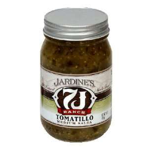 Jardines, Salsa Med Tomatillo, 16 OZ (Pack of 6) Health