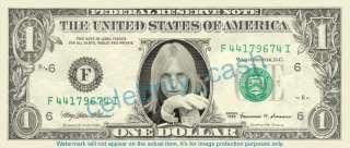 Tom Petty Dollar Bill   Mint