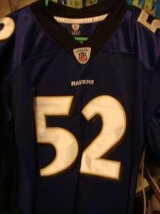 Ray Lewis Signed Jersey JSA COA Auto Baltimore Ravens