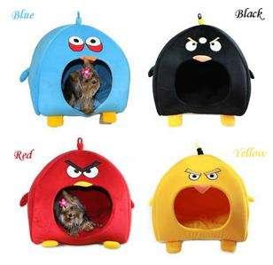 Colors Cute Bird Dog/Cat/Pet Beds Tent House