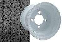 Hyundai Golf Cart part sawtooth tire and wheel assy.