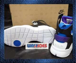 Nike Air Huarache Bball 2012 QS White Black Pure Purple Soar Noir US 8