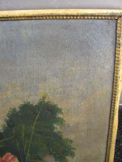 PERIOD ANTIQUE 19C. AMERICAN STILL LIFE OIL PAINTING