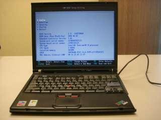 IBM THINKPAD T42 2378 Laptop Pentium M, 1.6 GHz, 1 GB RAM