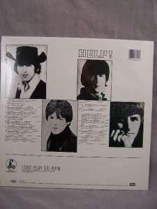 Beatles HELP Parlophone Record Album LP SEALED
