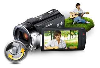 Samsung HMX S10 Full HD Memory Camcorder (Black)
