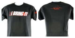 The Rock I Bring It Dwayne Johnson Signature WWE Black T shirt New