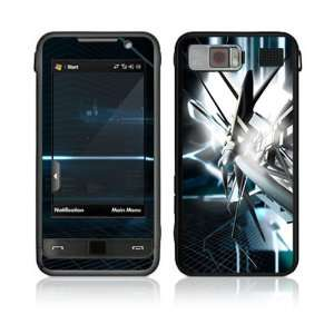 Samsung Omnia (i910) Decal Skin   Abstract Tech City