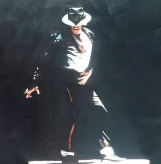 Michael Jackson King of Pop Portrait Prints on canvas