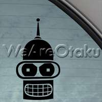 Futurama Decal Bender Car Truck Bumper Window Sticker