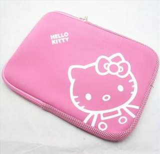 Hello kitty Soft Laptop Bag 13 Macbook Notebook PINK