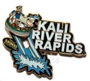 Disney WDW   Kali River Rapids Logo ~ MICKEY MOUSE DONALD DUCK Ride