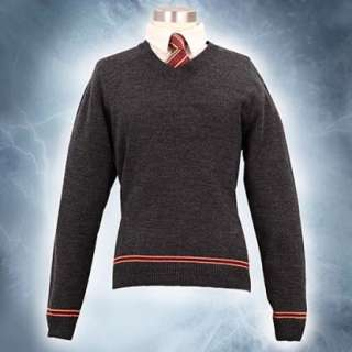 harry potter gryffindor costume school sweater with tie by museum