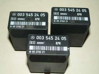 Mercedes Fuel Pump Relay W201 W124 W126 260E 300E & SE