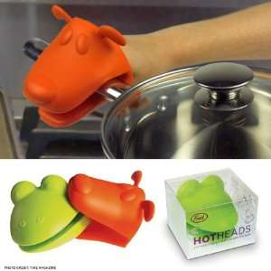 Fred & Friends Hot Heads Silicone Animal Pot Holder