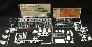 25 AMT 1964 FORD THUNDERBIRD 3 in 1 Customizing Kit *NMIB*