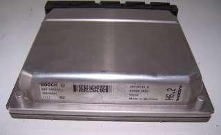 2001 00 01 2000 VOLVO S80 T6 2.8 TURBO 6 CYL ECU ECM ENGINE COMPUTER