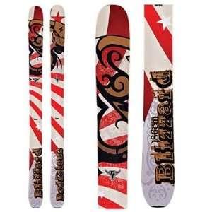 Blizzard Bodacious Powder Skis 2012   186 Sports