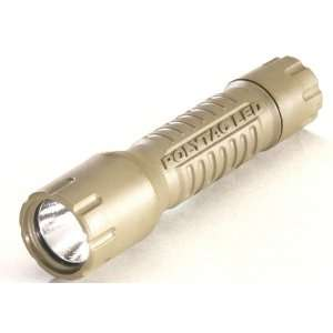 Streamlight Poly Tac Tactical Light Non Rechargeable Coyote 72 Lumens