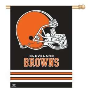 Cleveland Browns 27x37 Inches NFL Vertical Banner/Wall