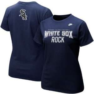 White Sox Navy Blue Cooperstown Rock T shirt