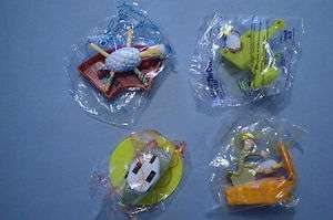Subway 2001 Sheep in the Big City   Complete Set of 4 MIP