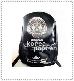 Bigbang Big Bang KPOP BLACK SCHOOLBAG BACKPACK BAG TYPE B NEW
